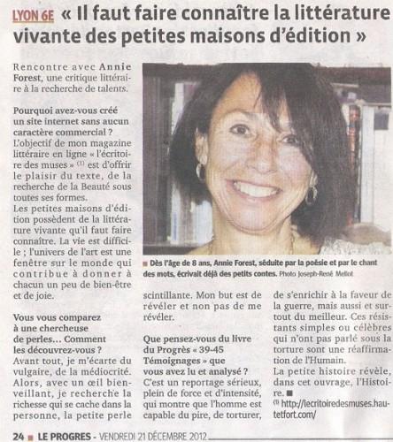 Annie Forest Abou-Mansour